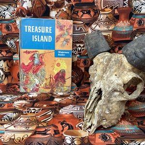 1954 Treasure Island Hardback Book